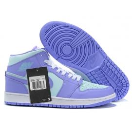 NK A. Jordan 1 Purple & Blue