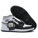 Zapatillas NK Air Jordan 1 Negras & Grises