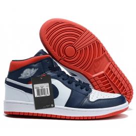 Zapatillas NK Air Jordan 1 Azul & Rojas