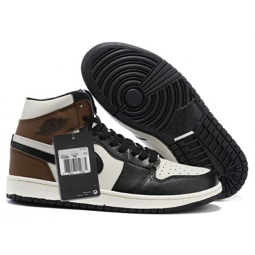 Zapatillas NK Air Jordan 1 Marrón & Negras