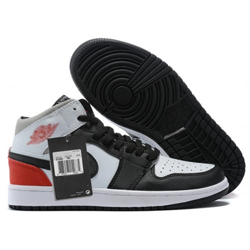 Zapatillas NK Air Jordan 1 Negras & Rojas