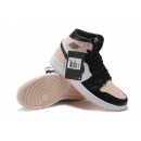 Zapatillas NK Air Jordan 1 Mid Rosas & Negras