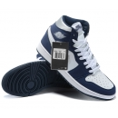Zapatillas NK Air Jordan 1 Azul Oscuro
