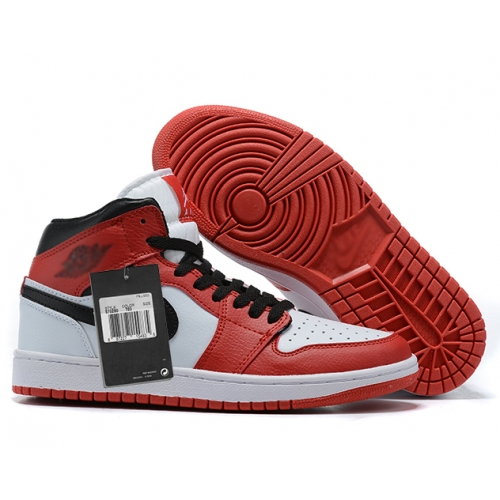 Zapatillas NK Air Jordan 1 Rojas & Blancas