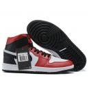Zapatillas NK Air Jordan 1 Roja & Negra & Blanca