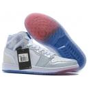 Zapatillas NK Air Jordan 1 Blancas y Grises