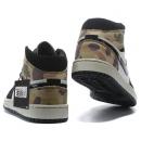 Zapatillas NK Air Jordan 1 Estampado Militar