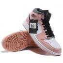 Zapatillas NK Air Jordan 1 Negras & Rosas