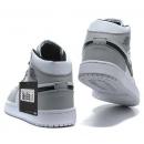 Zapatillas NK Air Jordan 1 Blancas & Grises