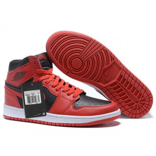 Zapatillas NK Air Jordan 1 Roja & Negras