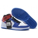 Zapatillas NK Air Jordan 1 Azul & Rojas & Blancas