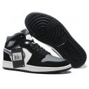 NK A. Jordan 1 Mid Black & Grey