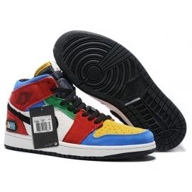 Zapatillas NK Air Jordan 1 Mix Colores