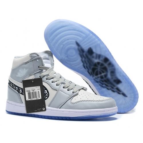 Zapatillas NK Air Jordan 1 Grises DIOR