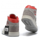 Zapatillas NK Air Jordan 1 Grises & Rojas