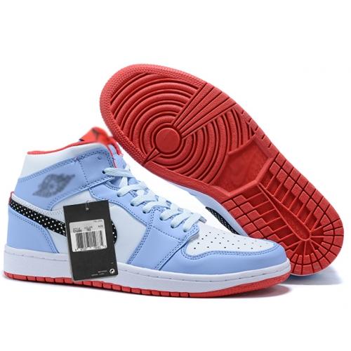 Zapatillas NK Air Jordan 1 Celestes