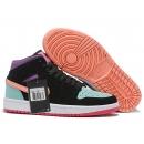 Zapatillas NK Air Jordan 1 Negras MultiColor