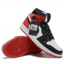 NK A. Jordan 1 Mid Red & Black