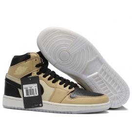 Zapatillas NK Air Jordan 1 Negras & Crema