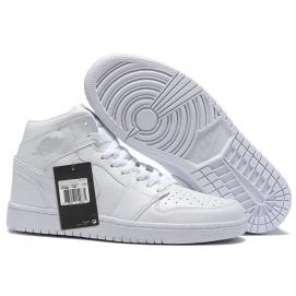 Zapatillas NK Air Jordan 1 Top Blancas