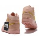 Zapatillas NK Air Jordan 1 Rosas & Beige