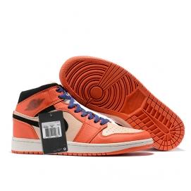Zapatillas NK Air Jordan 1 Mid Naranjas
