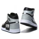 Zapatillas NK Air Jordan 1 Negras & Plateadas