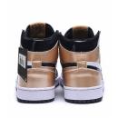 Zapatillas NK Air Jordan 1 Negras & Doradas
