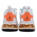 Zapatillas NK Air max 270 React Blancas & Naranjas