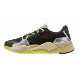 Zapatillas PMA RS-X Reinvention Negras & Amarillas