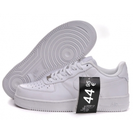 Zapatillas NK Air Force 1 Blanco (Bajas)