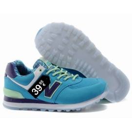 NB 574 Blue and Black