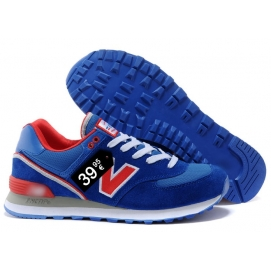 NB 574 Blue and Red