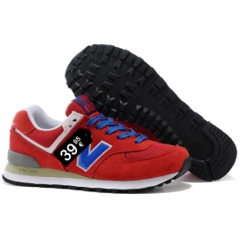 NB 574 Red and Blue