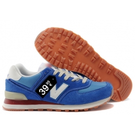NB 574 Blue and White