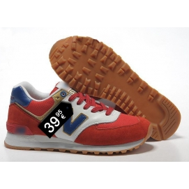 NB 574 Red, Blue and White