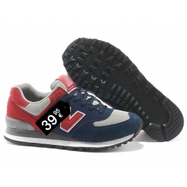 NB 574 Blue, Red and White