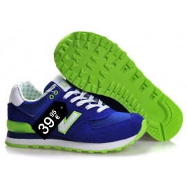 NB 574 Blue and Green