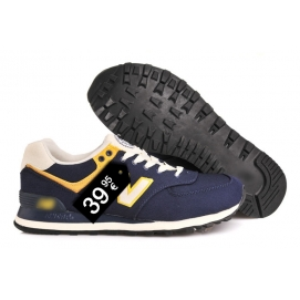 NB 574 Navy and Yellow