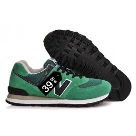 Zapatillas NB 574 Verde y Negro