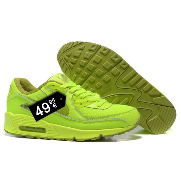 air max 90 fluorescent green