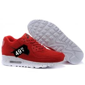 Zapatillas NK Air max 90 Rojo (Salpicada)