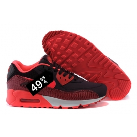 Zapatillas NK Air max 90 Rojo (Escamas)