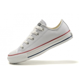 Zapatillas CV Chuck Taylor All Star Leather Blanco (Bajas)