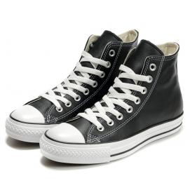 Zapatillas CV Allstars Leather Negro (Altas)