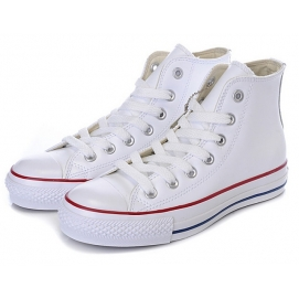 Zapatillas CV Chuck Taylor All Star Leather Blanco (Altas)