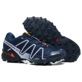 Zapatillas Salmon speed cross 3 Azul Marino