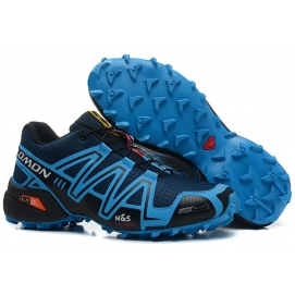 Zapatillas Salmon speed cross 3 Azul