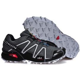 Zapatillas SMN Speedcross 3 Negro y Gris