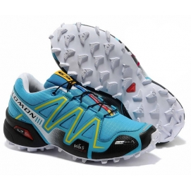 Zapatillas Salmon speed cross 3 Celeste